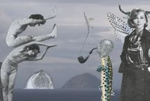 collages / Collages, created with photoshop, by Stef Rymenants aka Rime from Rime & Fish