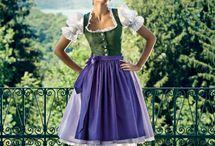 Dirndl / Trentino abito tradizionale
