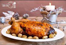 Pollo de navidad
