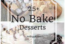 Desserts sans cuisson