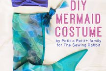 Mermaid costume enz