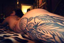 Hippy earthy tattoos
