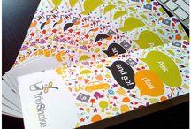 Folders e brochuras