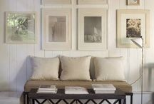 decorate with white & neutrals