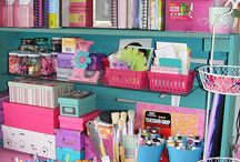 Organized work spaces