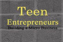 Entrepreneurship: Teens Homeschool / Homeschooling business and marketing skills | Topics about entrepreneurship