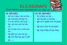 llengua catalana amb la tablet / exercicis per treballar l'ortografia amb tablet