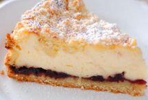 Kuchen, Torten, süßes Gebäck, Dessert