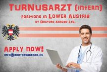 Ausztriai orvosi és rezidens állások / If you are a great German speaker and you want to work or train as a medical doctor in Austria, take your chance now. We are recruiting for Austrian hospitals medical doctors of all kind from even graduating medical scholars and interns up to specialist or Consultant for long term contracts. All fields of medicine are considered. Financial and professional appreciation predictable, well-planned career and prestigious European living conditions all together in Germany. Why not to apply today?