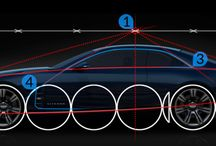 proporções carros
