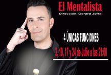 César Vinuesa, El Mentalista / ¿Dispuestos a pasar una noche de magia y humor? Ahora es posible con César Vinuesa, El Mentalista. ¡Magia, sugestión, psicología y humor!