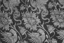tkaniny i ornamenty