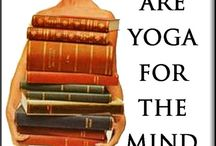 "Books to Enjoy - Mind Yoga / ""A book should serve as the ax for the frozen sea within us."" Franz Kafka"