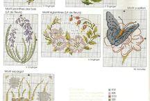 Cross Stitch - Flowers, Garden