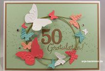 Geburtstagskarten für einen runden Geburtstag