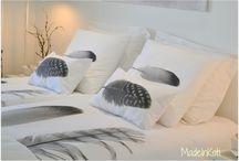 Makuuhuoneen sisustus  -Interior bedroom / Ideoita makuuhuoneen sisustukseen