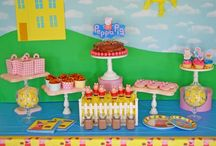 Peppa Pig Birthday Party Ideas / It's party time with Peppa Pig! Peppa loves spending time with Mummy Pig, Daddy Pig and her little brother George, and we bet your little one loves spending time with you, too. So treat your little one to a first birthday celebration the whole family will love with a Peppa Pig party! Muddy puddles are optional. The party experts at Birthday Express have decor tips and tricks, ideas for party activities and all the party supplies you need to throw a bright and sunny Peppa Pig birthday party.