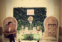 Real Wedding : Vintage Garden Wedding