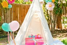 PARTY - CAMPING / by Rebekah Dempsey | A Blissful Nest