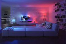 Smartes Licht / Inspirationen, Produkte & Systeme für smarte Lichtsysteme im Connected Home!