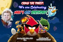 Angry Birds Birthday Party Invitations and supplies / Angry Birds Invitations, Angry Birds Birthday Decorations, Angry Birds Party Supplies, Angry Birds Gift Tags, Angry Birds water bottle labels, angry birds candy bar wrappers, angry birds decorations, angry birds photo invitations, angry birds digital invitations, angry birds custom invitations, angry birds birthday banner, invitations, custom invitations, birthday invitations, party invitations, digital invitations