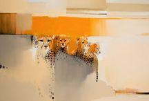 Dyr akvarel