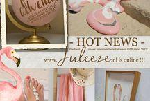 Hot news !!! / Jaaaaaaaaa !!! www.juleeze.nl is online !!!  Ga gauw een kijkje nemen!