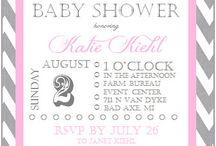 Baby Shower Invitations / by Amanda Warner