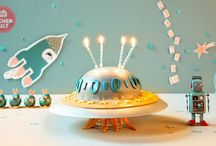 Space Geburtstagsparty