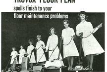 Vintage Truvox floor machines / Truvox's heritage in floor machines / by Truvox International