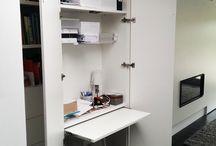 bureau in kast