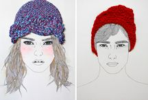 Ilustraciones Bordadas