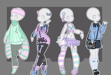 goth, dark, loli, pastel (and other clothing stuff )