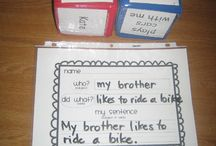 Writing centre / Beginning print and sentence structure