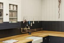 cool kitchens / by Denise Emma