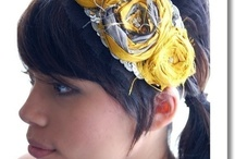 hair accesories / by Emily Haslag