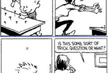 Calvin and Hobbes :) / This has always been one of my favourite comics growing up, and it never fails to make me laugh :D
