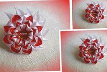 fiori   e oggetti  di stoffa