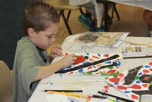 Young at Art / Art projects run by our parent volunteers.