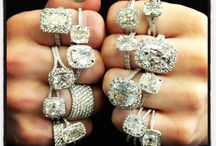 Diamonds & More! / Beautiful engagement rings and other to match!