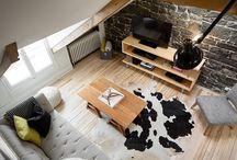 Rénovation intérieure d'un condo style rustique / Condo entièrement rénové dans la ville de Québec. Tous les détails ici: https://renovationleblanc.com/condo-style-rustique