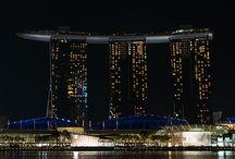 Singapore by night - photos