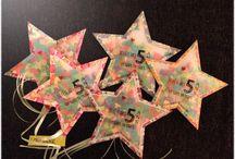 Invitations anniversaire / DIY cartes d'anniversaire fait main Invitations gouter d'anniversaire enfant fait maison Fabriquer ses cartons d'invitation
