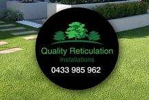 Quality Reticulation Installations