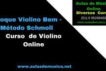 Aulas de Violino Online / Encontre os  melhores cursos de violino online  do Brasil ,estude em sua casa  com suporte do professor  e  pague uma parcela mais barata que uma pizza com refrigerante ,saiba mais no whatsap (51) 995288460 ou no site www.aulasdemusica.net