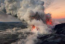Volcanoes. Volcanes. Volcans