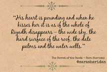 Quotes from Sara's Books / Quotes from Books by Scottish novelist and writer, Sara Sheridan
