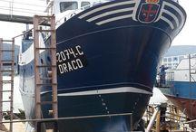Pintura Naval y Bateas / Los distintos sistemas de protección para barcos.