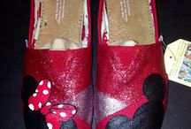 Hand painted shoes / by Courtney Hawkins