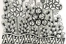 Drawing, Zentangle